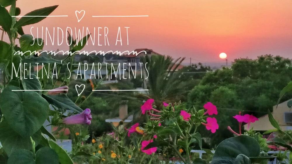 Nefeli apartment sunset